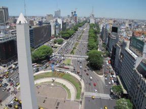 La Avenida 9 de Julio de Buenos Aires ?