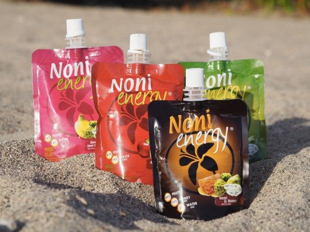 Boisson énergétique à base de noni et de fruits