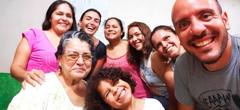 Monica, productrice de cacao à Pichucalco, et sa famille